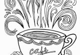 Teacup Coloring Pages to Print Coffee Coloring Pages Coloring