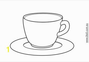 Teacup Coloring Pages to Print Teacups for Kids Castrophotos