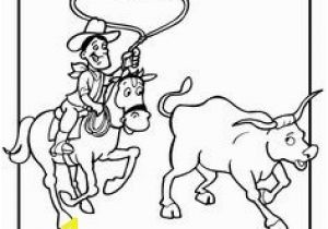 Team Roping Coloring Pages Free Printable Rodeo Coloring Pages Bull Riding Barrel Racing Calf
