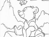Teddy Bear Coloring Pages for Kids Brother Bear Coloring Book Pages Brother Bear 39
