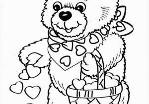 Teddy Bear Coloring Pages for Kids Prodigious Coloring Pages Bear for Girls Picolour