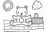 Teddy Bear Picnic Coloring Pages Teddy Bear Picnic Colouring Pages Bell Rehwoldt