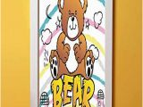 Teddy Bear Wall Murals Amazon Nursery 3d Door Sticker Wall Decals Mural