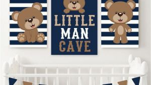 Teddy Bear Wall Murals Boy Bear Wall Art Baby Boy Nursery Decor Boy Bear Bedroom