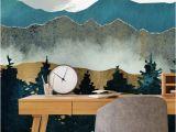 Teenage Bedroom Wall Murals forest Mist Teenage Bedroom Ideas In 2019