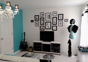 Teenage Girl Bedroom Wall Murals My Daughter Cassie S New Tiffany Inspired Room Two Separate
