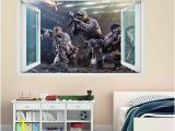 Teenage Mutant Ninja Turtles Wall Mural Uk Army Sniper Dogs sol R Cod Wall Stickers Art 3d Effect