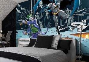 Teenage Wall Murals Uk Giant Size Wallpaper Mural for Girl S and Boy S Room Batman & Joker