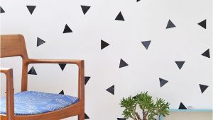 Temporary Wall Murals Diy Removable Triangle Wall Decals Diy S Pinterest