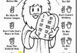 Ten Commandments Coloring Pages Catholic 45 Best Bible Lesson 10 Mandments Images On Pinterest In 2018