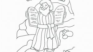 Ten Commandments Coloring Pages Moses Ten Mandments Coloring Pages and the Ten Mandments Bible
