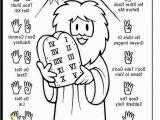 Ten Commandments Coloring Pages Ten Mandments Coloring Pages for Preschoolers Inspirational 10