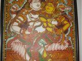 Terracotta Wall Murals Kerala Shiva Sakthi Indian Art Kerala Mural Paintings