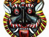 Terracotta Wall Murals Price Hand Art Terracotta Wall Hanging Nazar Battu Decoratives Mask Multi Pack Of 1