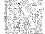 Terry Fox Coloring Pages Creative Haven Fanciful Foxes Coloring Book Adult Coloring