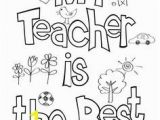 Thank You Coloring Pages for Teachers Teacher Appreciation Coloring Page Thank You Gift Free Printable