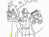 Thank You Fireman Coloring Page 7 Best Thank You Cards Images