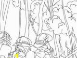 Thank You Fireman Coloring Page Job Coloring Pages