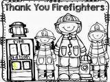 Thank You Fireman Coloring Page Patti Tessendorf Pattitessendorf On Pinterest