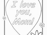 Thank You Mom Coloring Pages Cool Coloring Sheets Love You Mom Coloring Pages