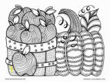 Thanksgiving Basket Coloring Pages Adult Coloring Pages