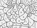 Thanksgiving Basket Coloring Pages Fall Coloring Pages Color by Number Thanksgiving