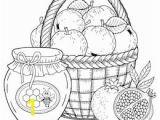 Thanksgiving Basket Coloring Pages Imágenes Fotos De Stock Y Vectores sobre Coloring Pages