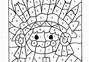 Thanksgiving Color by Numbers Pages Printables Color by Numbers Page Print Your Free Color by Numbers Page at
