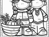 Thanksgiving Coloring by Number Pages Free Place Value Color by Number Thanksgiving themed