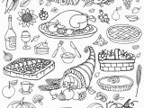 Thanksgiving Food Coloring Pages Color Pages Kawaiiod Fruit and Veggie Coloring Pages