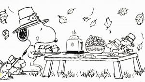 Thanksgiving Snoopy Coloring Pages Snoopy Thanksgiving Coloring Sheet