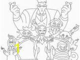The Addams Family Coloring Pages 140 Best the Addams Family Images
