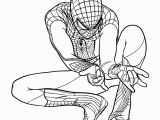 The Amazing Spiderman Printable Coloring Pages the Amazing Spiderman Ready to Shoot His Webs Coloring