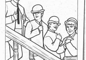 The Beatles Coloring Pages the Beatles Coloring Page 03 Beatles Coloring Book