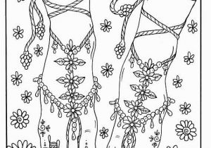 The Foot Book Coloring Pages 5 Pages Of Fairy Feet Instant Digital Digi Stamp Fairy