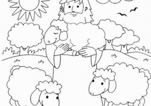 The Good Shepherd Coloring Page Sheep and Shepherd Coloring Page 2603