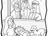 The Good Shepherd Coloring Page Shepherds Visit Baby Jesus Color Sheet