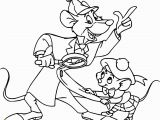 The Great Mouse Detective Coloring Pages the Great Mouse Detective Basil Olivia Great Mouse Cartoon Coloring