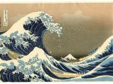 The Great Wave Off Kanagawa Wall Mural Big Wave by Hokusai Katsushika 1760 1849