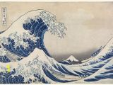 The Great Wave Off Kanagawa Wall Mural Hokusai the Influential Work Of Japanese Artist Famous for