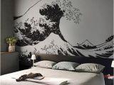 The Great Wave Off Kanagawa Wall Mural Japanese the Great Wave F Kanagawa by Hokusai Wall Decal