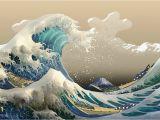 The Great Wave Off Kanagawa Wall Mural the Great Wave Off Kanagawa 2 0
