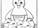 The Little Red Hen Coloring Page Little Red Hen Literacy Pack Retelling Letter Writing Word Family