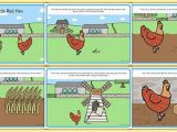 The Little Red Hen Coloring Page Little Red Hen Story Little Red Hen Traditional Tales Tale