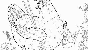 The Little Red Hen Coloring Pages Free Little Red Hen Coloring Page