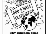 The Lord S Prayer Coloring Pages Printable the Lords Prayer Coloring Page 2 God & Bible