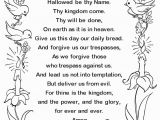 The Lord S Prayer Coloring Pages Printable the Lords Prayer Coloring Page