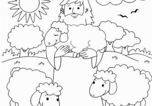 The Lost Sheep Coloring Page 28 the Good Shepherd Coloring Page