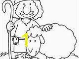 The Lost Sheep Coloring Page Bible Coloring Pages for Kids