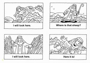 The Lost Sheep Coloring Page Jesus and the Lost Sheep Coloring Page Lost Sheep Coloring Page New